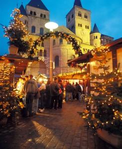 Mercado de navidad en Valkenburg